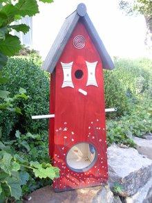 Greenwood Bird Feeder House Lunch Home