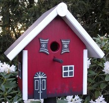 Greenwood Bird Feeder House Holiday Inn