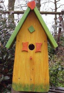 Greenwood Bird House Happiness