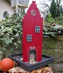 Greenwood Bird Feeder House Amsterdam