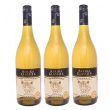 Klassisk hvid Afrika (African hvidvin i en 0,75 liters flaske)