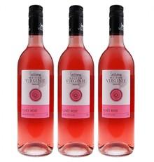 Виржини Cuvee Rose, розово качество, 0.75 литра