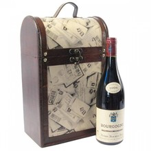 """Wijnkoffer """"Magdalena"""" voor 2 wijnflessen"""