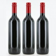 Red wine with your own personalized wine label