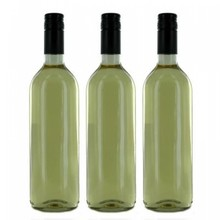 White wine with your own personalized wine label
