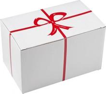 Евтини кутии за подарък за 2 чаши (размер 18.3 х 11 х 11 см)