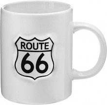 Route 66 collectie! Tough porcelæn Route 66 krus