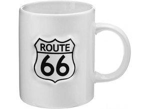 Route 66 collectie! Stoere porseleinen Route 66 mokken kopen en bestellen?