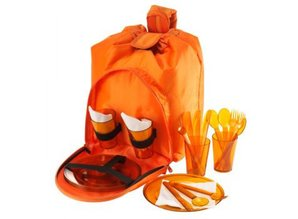 4-лице, чанта за пикник със съдържанието в продължение на 4 души!