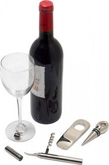 Luxe wijnset 9-delig in geschenkdoos