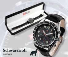 Wolf Schwarz watch Gstaad