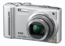 Panasonic In silver Lumix TZ10 Digital Camera Photo