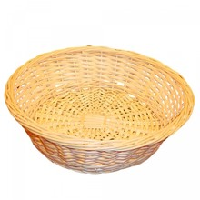 Light wicker basket / dish with a diameter of 40 cm