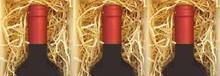 Træuld for tre-bin vin kasse (fyld)