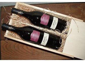 Wine Package Virginie (2-bin wine box and two bottles Virginie Merlot) Buy?