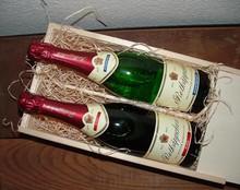 Rotkäppchen Sekt! Wine пакет Rotkäppchen Sekt (немски пенливо вино истински!)