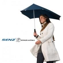 Senz paraply! Den billigste solid storm paraply brand Senz (trykt på den ene side i en farve)