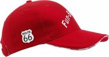 Route 66 collectie! Tough Route 66 Cap med logo og tekst Route 66