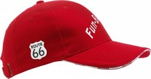 Route 66 collectie! Tough Route 66 Cap with logo and text Route 66