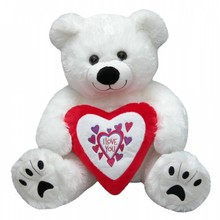 "Valentijnsdag 2018 │ Super Big Валентин Bear с текст ""Аз ви обичам"" купя?"