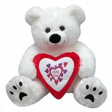 """Valentijnsdag 2018 │ Super Big Valentine Bear med teksten """"I LOVE YOU"""" købe?"""