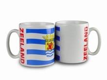 Най-евтиният чашата с илюстрация, ръцете на провинция Zeeland