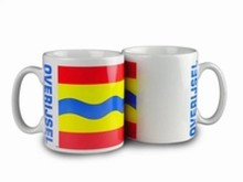 The cheapest mug with an illustration, the arms of the province of Overijssel