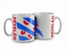 The cheapest mug with an illustration, the arms of the province of Friesland (Friesland)