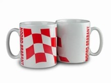 The cheapest mug with an illustration, the arms of the province of Noord-Brabant
