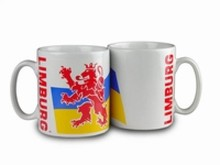 The cheapest mug with an illustration, the arms of the province of Limburg