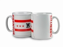 The cheapest mug with image, the weapon of the province of Drenthe