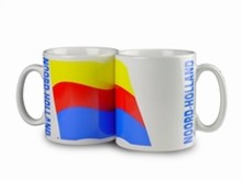 The cheapest mug with an illustration, the arms of the province of Noord-Holland