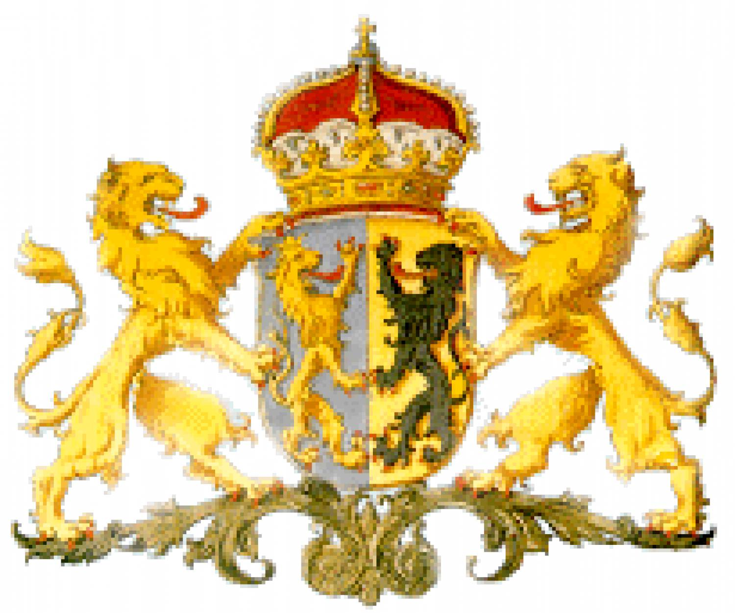 Glazen snoeppot afbeelding wapen provincie Gelderland - Goods and