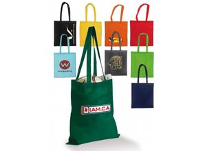 Baskılı logo ve / veya metin ile ucuz çanta!