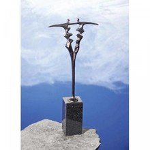 "Skulptur ""Frugtbart samarbejde"""