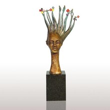 """Sculpture """"Creativity and Discovery Steps to convert"""""""