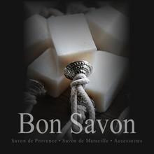 Bon Savon Bon Savon sæbe oliven sæbe mursten dekoreret med perle