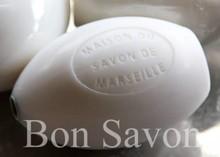 Bon Savon Pærer sæbe Savon de Marseille (især for bar sæbe i duften Jasmine)