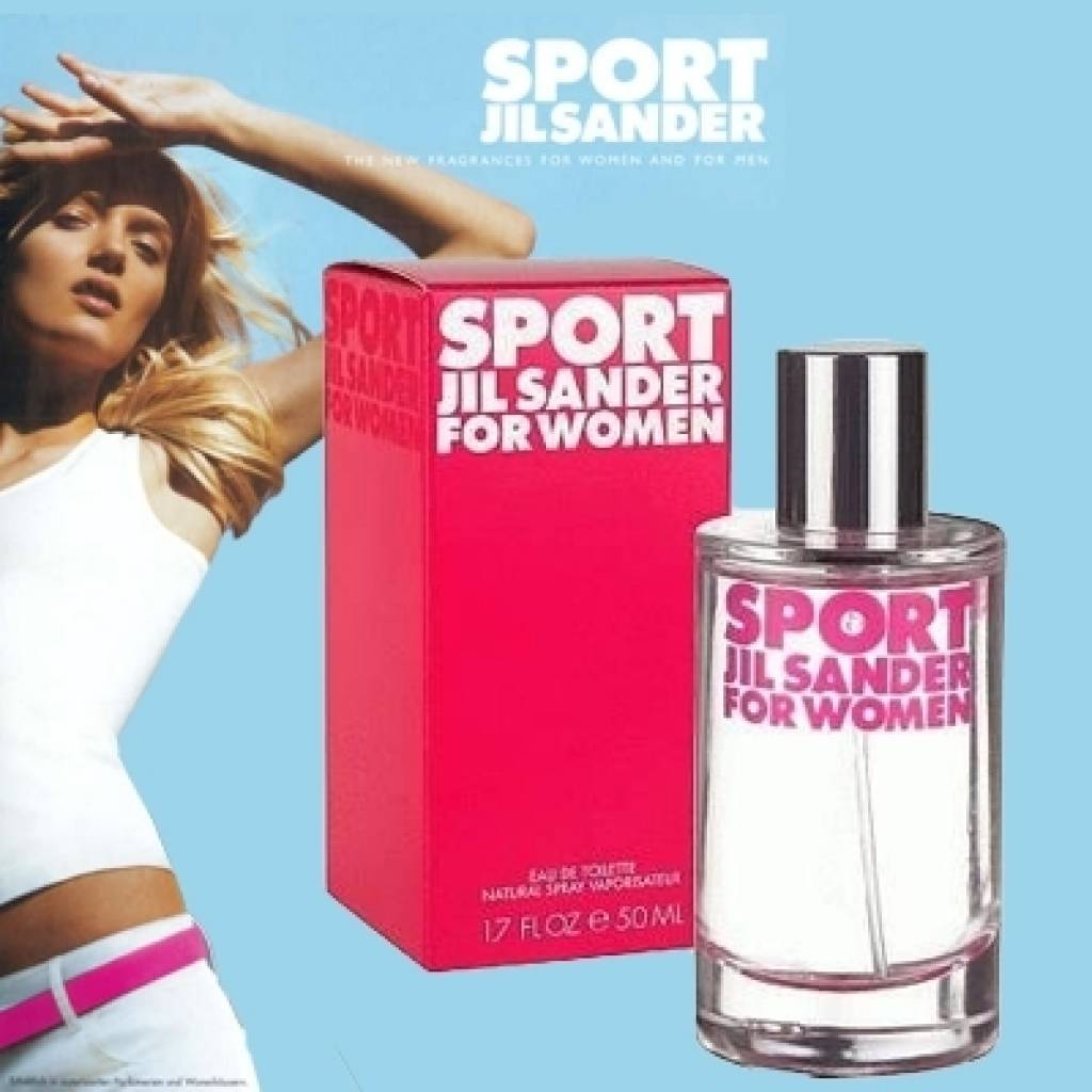 jil sander sport for women eau de toilette 50 ml goods. Black Bedroom Furniture Sets. Home Design Ideas
