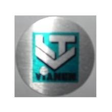 De goedkoopste aluminium afslag met eigen logo/embleem en tekst bestellen!