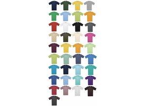 При нас можете да поръчате тениски в 37 различни цвята!