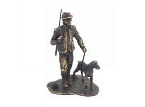 """При нас можете да Скулптура тема """"Hunter с куче"""" купуват!"""