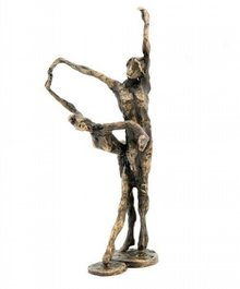 "Skulptur med temaet ""Dance"""