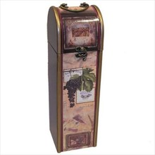 "Wine Box ""Druiventros', suitable for 1 bottle of wine"