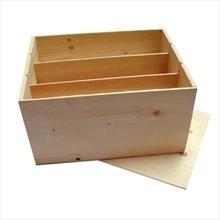 6-бен кутии за вино (модел с висока хлабав капак)