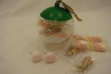 Goedkope transparante kerstballen met snoepgoed kopen?