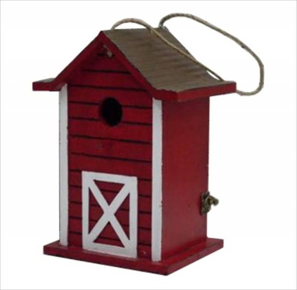 Moderne vogelhaus 39 red 39 goods and gifts billige - Modernes vogelhaus ...