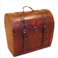 """Colonial дървена кутия вино """"скандинавски"""" (извънгабаритни размери 286 х 181 в х 240 mm)"""