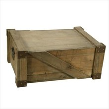 Robuuste houten scheepskisten (afmeting buitenmaats: 460 x 320 x 190 mm)