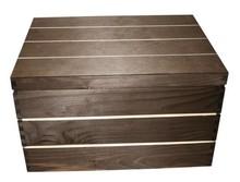 "Echte houten scheepskisten ""Lodewijk"" met scharnierdeksel"